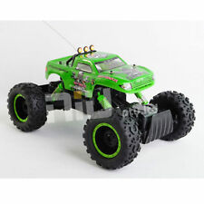 Green Rock Crawler King NQD 1:12 Scale Truck Remote Control RC 4wd Rechargeable