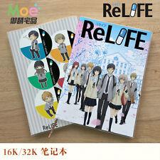 New ReLIFE Yoake Ryo Hisiro Chizuru Notebook Stationery Book