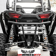 HMF  Rear BLACK Bumper, Polaris RZR XP 1000, RZR 1000 TURBO