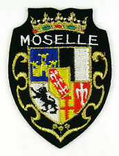 ECUSSON VILLE  REGION BLASON BRODE EMBROIDERED PATCH MERESSE MOSELLE