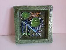 teller schale abstrakt keramik sweden signiert tilgman