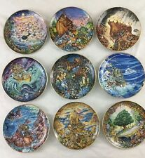 Noah's Ark Franklin Mint Plate Collection By Bill Bell Limited Edition