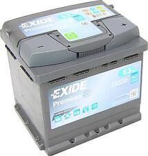 Exide Premium CARBON BOOST EA530 12V 53Ah Erstausrüster neuste Generation C-P