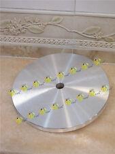 """200mm 8 inch THK Aluminium master lap 8"""" diamond flat laps aluminum base plate"""