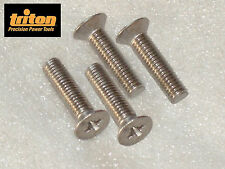 Triton MOF, TRA01/B, JOF001 Router Table Mounting Plate PH S/Steel Screws 30mm