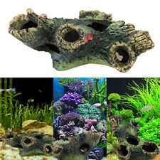 Aquarium Decoration Trunk Bole Driftwood Underwater for fish Tank Resin Ornament