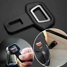 Universal Safety Car Seat Belt Buckle Insert Warning Alarm Cancel Stopper+Opener