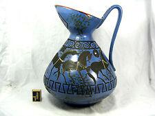 """Stunning  60´s Hans Welling Design Ceramano Keramik """" Pergamon """" vase  206 41 cm"""