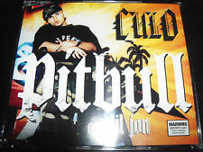 Pitbull Ft Lil Jon Culo Rare Australian 4 Track CD Single - Like New