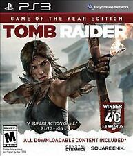Tomb Raider: Game of the Year Edition  (Sony Playstation 3) NEW