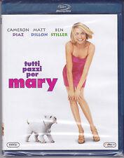 Blu-ray **TUTTI PAZZI PER MARY** con Cameron Diaz Ben Stiller nuovo 1998