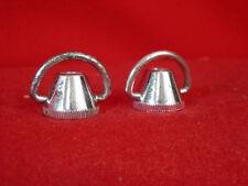 Vintage Skewer Nuts (2) Chrome Steel  Rare  Used