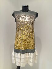 Authentic Louis Vuitton Sequin Dress Prefall 2012 Collection Size Small