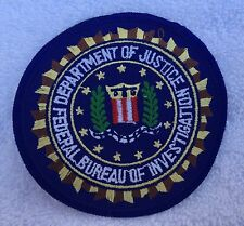 United States Department of Justice Federal Bureau of Investigation patch (P13)