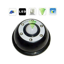 6 LED Auto Infrared PIR Wireness Motion Sensor Light Lamp Detector Porch Black
