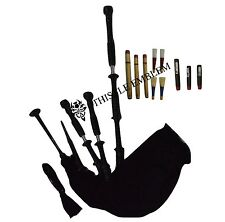 NEW HIGHLAND BAGPIPE HIGH QUALITY ROSEWOOD FULL SET/Dudelsack/Gaita/BAGPIPES