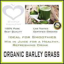 ORGANIC BARLEY GRASS POWDER CERT ORGANIC 1 Kg BEST AVAILABLE PROMOTION