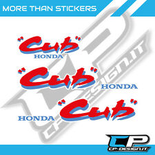 Adesivi per HONDA CUB EZ-90 replica stickers logo new
