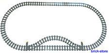 LEGO® Eisenbahn (60052) 8x Gerade/18x Gebogne Schienen/1x Weiche Links/1x Rechts