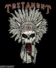TESTAMENT cd lgo NATIVE BLOOD Official SHIRT XL New dark roots of earth