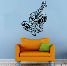 Spider Man Wall Decal Comics Super Hero Vinyl Sticker Home Wall Decor (001sm)