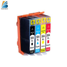 [4x 564 XL] Ink Cartridge For HP officejet 4610 4620 4622 C5383 D5400 Plus-B209a