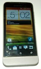 HTC One V 4GB Gray Cricket Android Smartphone Cracked Glass & Bad Digitizer