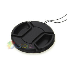2 x 49mm Front Lens Cap Hood Cover Snap-on For Canon Nikon Pentax Sony Camera