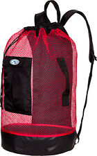 Stahlsac Panama Scuba Diving Travel Mesh Backpack Gear Bag RED NEW