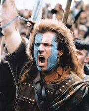 MEL GIBSON AS WILLIAM WALLACE FROM affiche imprimé 61x50.8cm