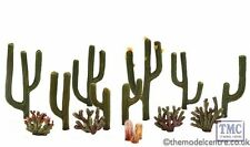 TR3600 Woodland Scenics 1/2 - 2 1/2 Cactus Plants 13 Pack Ready Made Trees TMC