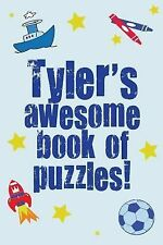 Tyler's Awesome Book of Puzzles! by Clarity Media (2013, Paperback)