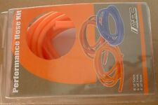 9mm 7mm 5mm Orange Vacuum Water Engine Compartment Dress Up Silicone Hose Line