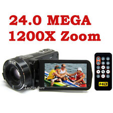 UK STOCK: JAPAN ORDRO Z-80 24.0 MP 1200X ZOOM FULL HD 1080P DIGITAL CAMCORDER