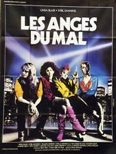 """LES ANGES DU MAL (CHAINED HEAT)"" Affiche originale (Linda BLAIR, Sybil DANNING)"