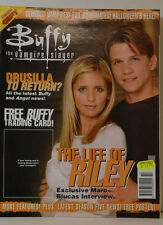 BUFFY VAMPIRE SLAYER ZEITSCHRIFT MAGAZIN 14 NOV 2000 - LIFE OF RILEY (ZB 19)