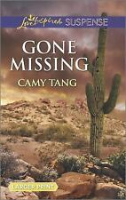 Gone Missing (Love Inspired Large Print Suspense), Tang, Camy, Good Book