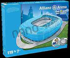 TSV 1860 Munchen Allianz Arena Stadium 3D jigsaw puzzle BLUE (1860 colour) (kog)