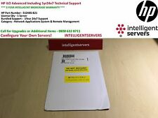HP iLO Advanced Including 1yr24x7 Technical Support