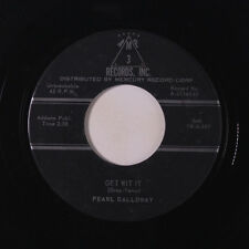 PEARL GALLOWAY: Get With It / Think It Over Baby 45 Blues & R&B
