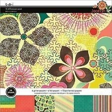 """s.e.i JOCELYN Paper Pad / Stack 12""""x 12"""" 24 sheets CLEARANCE PRICE"""