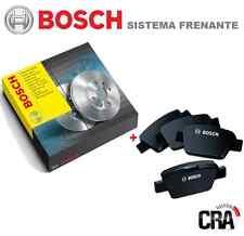 DISCHI FRENO + PASTIGLIE BOSCH MERCEDES CLASSE A W168 A160 con 75 kW ANTERIORE