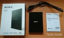 OFFICIAL Sony USB3.0 external HDD portable 1 TB HD-S1A B EMS from Japan