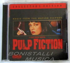 PULP FICTION - SOUNDTRACK O.S.T. Collector's Edition - CD Sigillato
