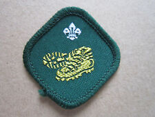 Hillwalker Proficiency Woven Cloth Patch Badge Boy Scouts Scouting