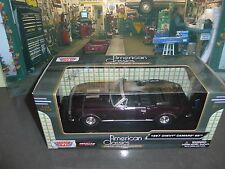 1968 Chevrolet Camaro SS Convertible +Bonus 1:24 scale Lindberg display case