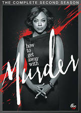 How To Get Away With Murder: The Complete Second Season ** DVD ** Sealed ** new