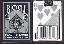 1 DECK Bicycle Silver Fashion playing cards FREE USA SHIP!