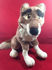 "BALTO Large Plush WOLF Dog stuffed animal 17"" 1995 Universal City Studios Amblin"