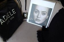 ADELE Exclusive VIP 2016 Tour Merchandise Set BLANKET TOTE BAG PHOTO LAMINATE